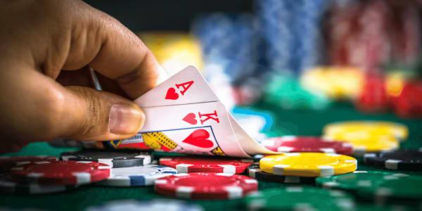 Killer -kombinationer i poker Används av proffs